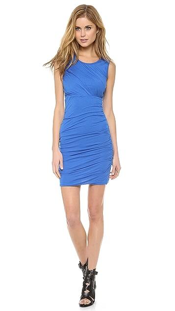 Diane von Furstenberg Angelina Ruched Jersey Dress