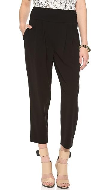 Diane von Furstenberg Uma Tuxedo Pants