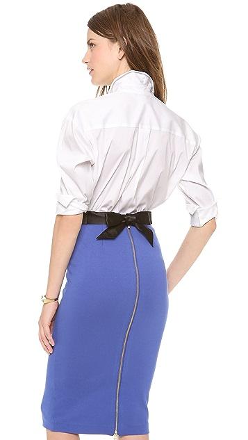 Diane von Furstenberg Malila Poplin Shirt