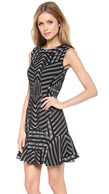 Diane von Furstenberg Carlie Drop Waist Dress