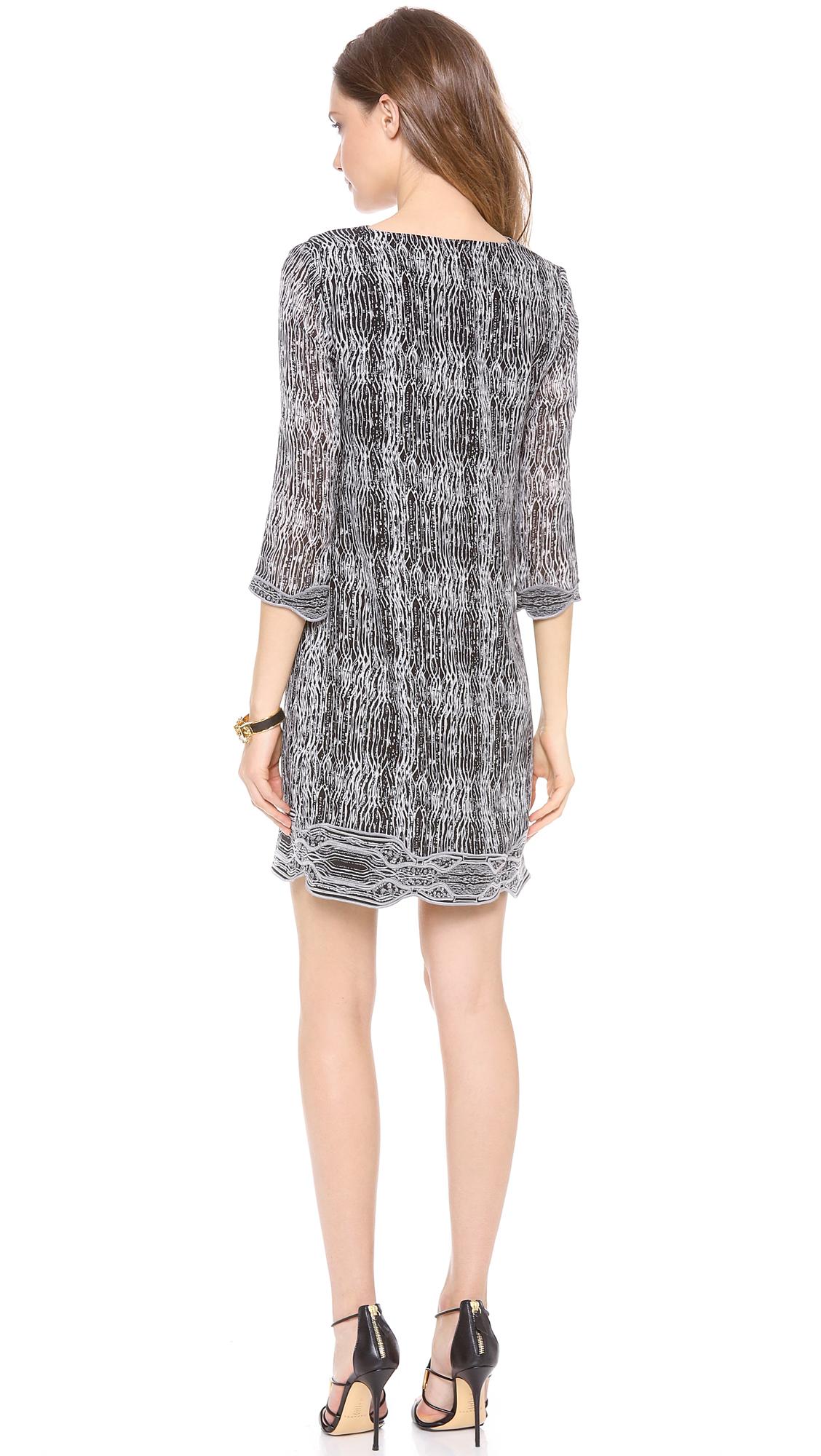 f4680391a17 Diane von Furstenberg Lexie 3/4 Sleeve Tunic Dress | SHOPBOP