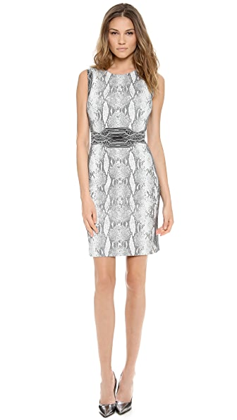 Diane von Furstenberg Bey Crew Neck Dress