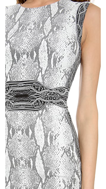 Diane von Furstenberg Bey Crew Neck Dress