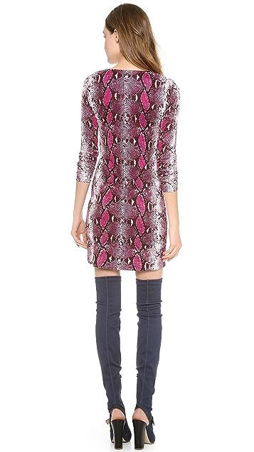 Diane von Furstenberg Reina Long Sleeve Dress