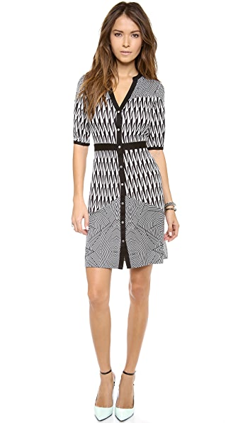 Diane von Furstenberg Fiona Button Down Dress