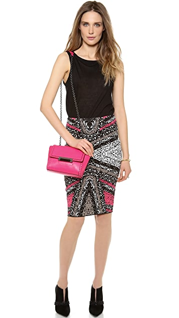 Diane von Furstenberg Phaedra Pencil Skirt