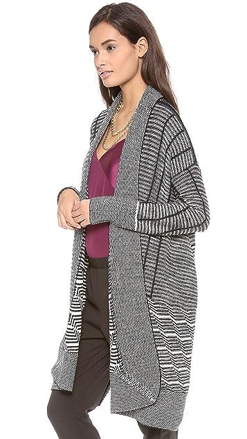 Diane von Furstenberg Monique Wrap Sweater