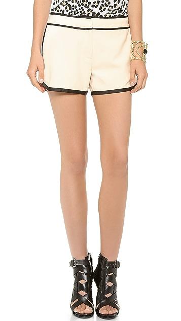 Diane von Furstenberg Jen Track Shorts