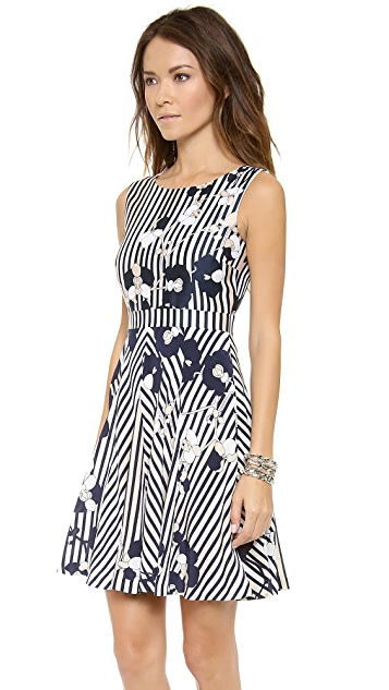 Diane von Furstenberg Kimana Printed Dress