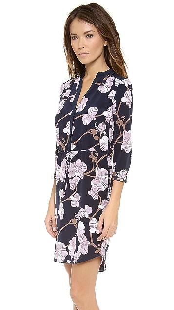 Diane von Furstenberg Freya 3/4 Sleeve Dress