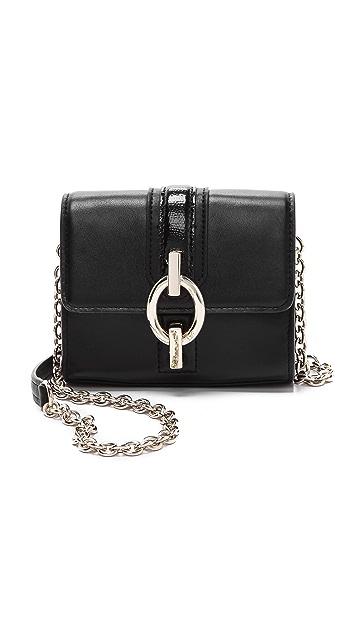 Diane von Furstenberg Sutra Leather Micro Mini Bag