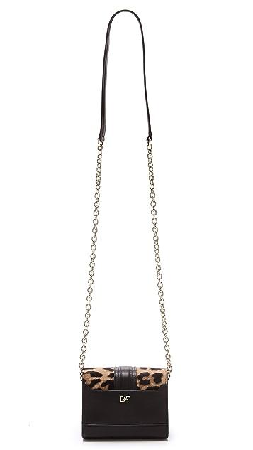 Diane von Furstenberg Sutra Haircalf Micro Mini Bag