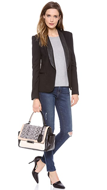 Diane von Furstenberg Highline Courier Satchel