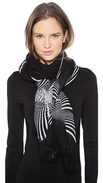 Diane von Furstenberg Orchid Bands Hanovar Scarf