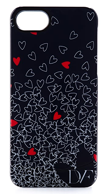 Diane von Furstenberg Falling Hearts iPhone 5 / 5S Case