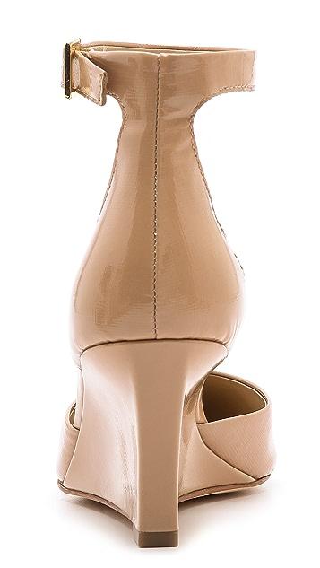 Diane von Furstenberg Pretty Pointy Toe Wedge Pumps