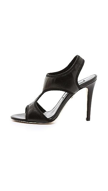 Diane von Furstenberg Urban Cutout Sling Sandals