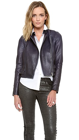Diane von Furstenberg Heaven Leather Jacket