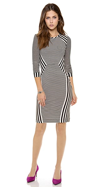 Diane von Furstenberg Havens Stripe Dress