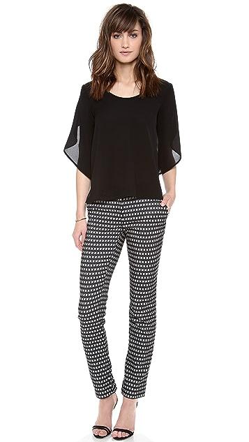 Diane von Furstenberg Susie Honeycomb Pants