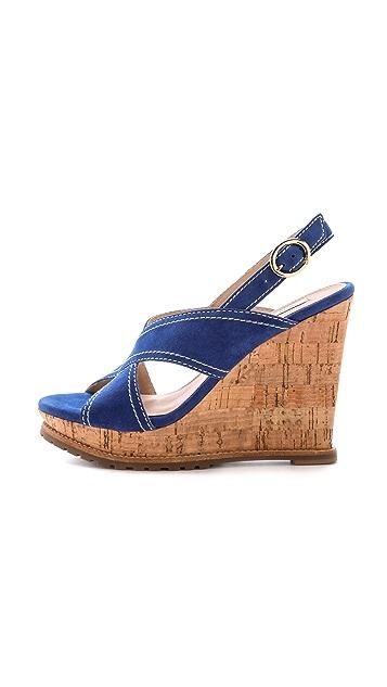 Diane von Furstenberg Sylvia Crisscross Sandals
