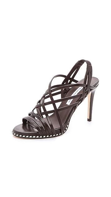Diane von Furstenberg Sandy Strappy Sandals