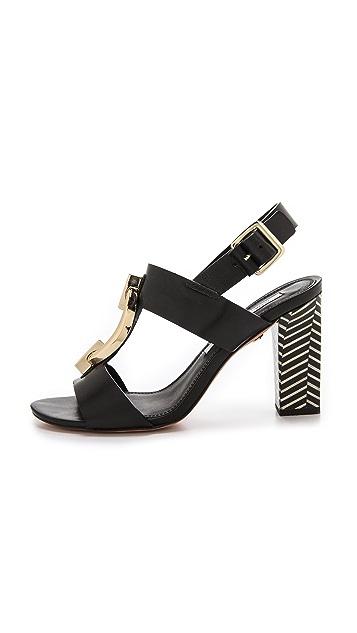 Diane von Furstenberg Padme T Strap Sandal