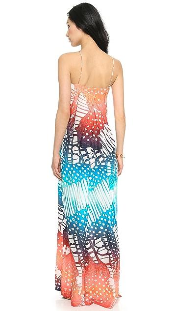 Diane von Furstenberg Annie Printed Maxi Dress