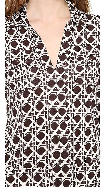 Diane von Furstenberg Dilly Shirtdress