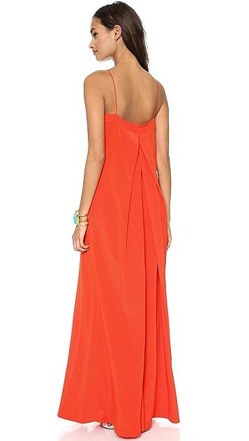 Diane von Furstenberg Annie Embellished Maxi Dress