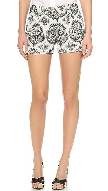 Diane von Furstenberg Naples Floral Shorts