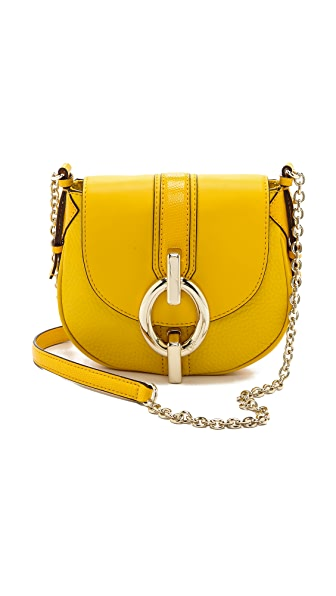 Diane von Furstenberg Sutra Mini Mixed Leather