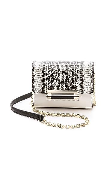 Diane von Furstenberg 440 Micro Mini Bag with Exotic Print