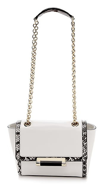 Diane von Furstenberg 440 Mini Satchel with Exotic Print