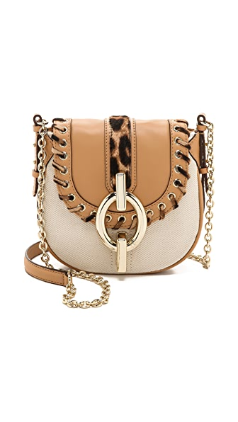Diane von Furstenberg Sutra Canvas Mini Cross Body Bag