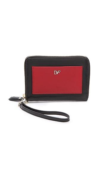 Diane von Furstenberg Voyage Connect Wristlet
