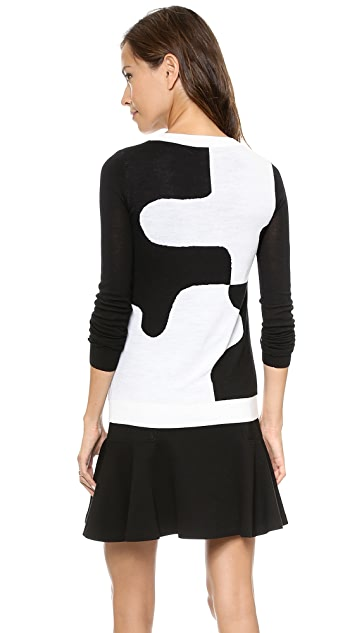Diane von Furstenberg Daphne Puzzle Sweater