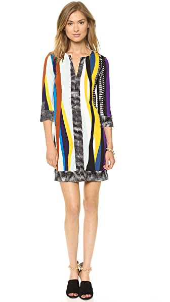 Diane von Furstenberg Rose Tunic Dress