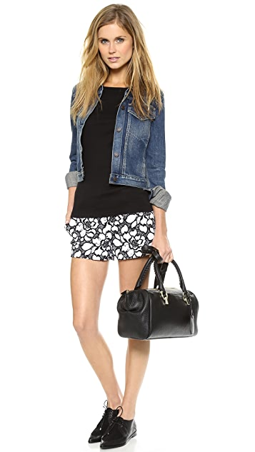 Diane von Furstenberg Napoli Lace Shorts