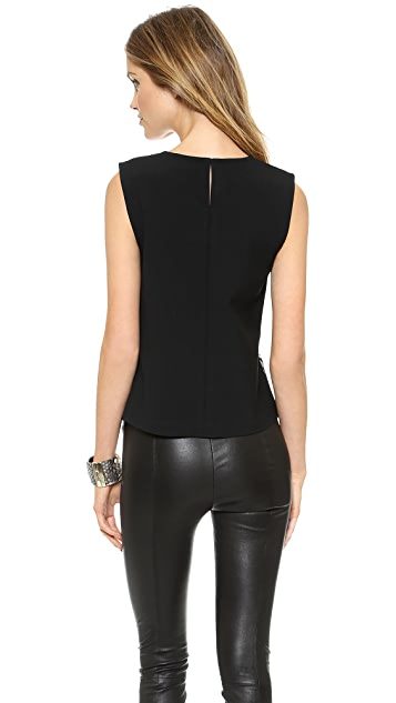 Diane von Furstenberg Betty Lace Sleeveless Top