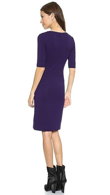 Diane von Furstenberg Raquel Scoop Neck Dress