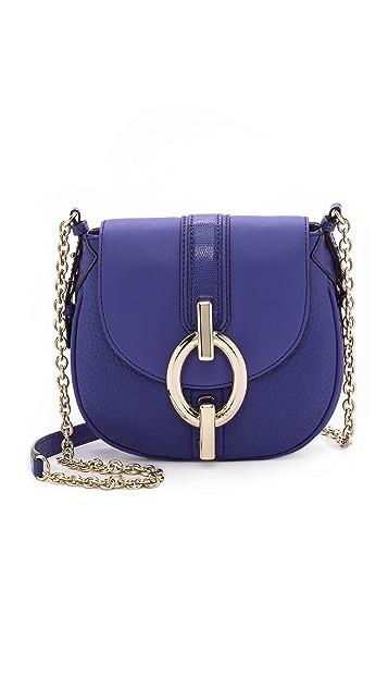 Diane von Furstenberg Sutra Mini Mixed Leather Cross Body Bag