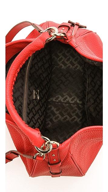 Diane von Furstenberg Sutra Hobo Deergrain Leather Bag