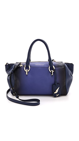 Diane von Furstenberg Sutra Small Duffel Ombre Leather Bag
