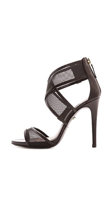 Diane von Furstenberg Jules Mesh Sandals