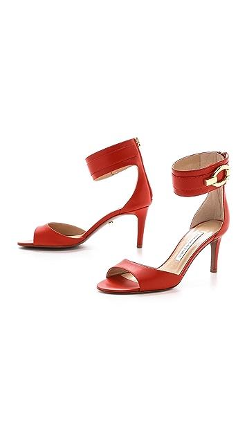 Diane von Furstenberg Kara Ankle Cuff Sandals