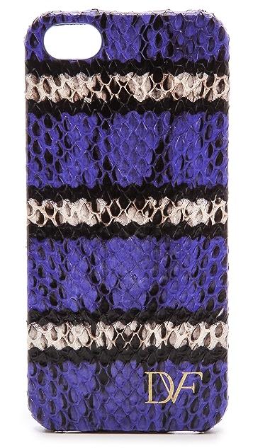 Diane von Furstenberg iPhone 5 / 5S Striped Snake Case