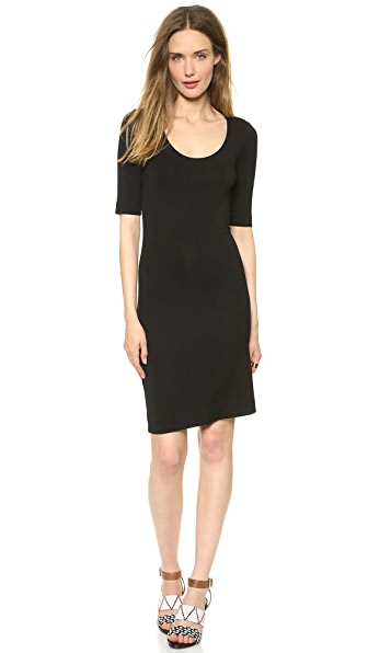Diane von Furstenberg Raquel Scoop Neck Dress