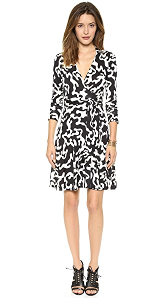 Diane von Furstenberg Puzzle Wrap Dress