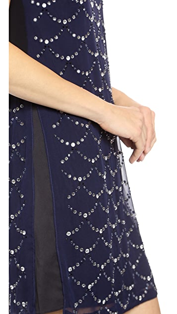 Diane von Furstenberg Jocelyn Embellished Dress